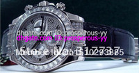 authentic diamonds - Hot Sale Luxury Watches AUTHENTIC White Gold Diamond Pave Crown