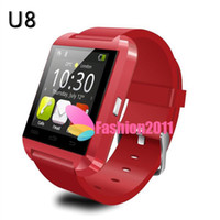 Wholesale U8 Smart Watch Bluetooth WristWatch Phone for i4 S S Note Note Android Phone Smartphones