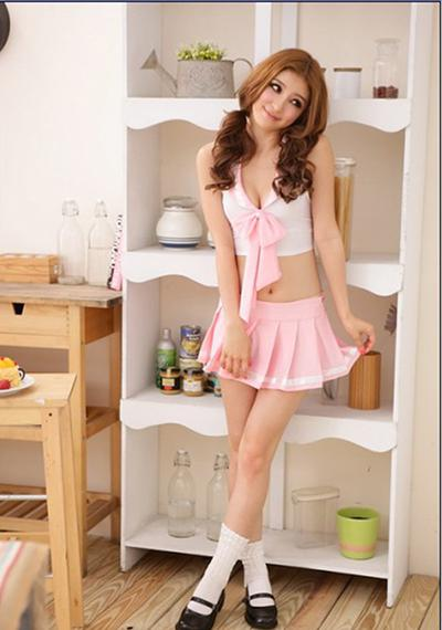 Girl school adult outfit