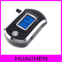Wholesale 9126 Professional Mini Police Digital LCD Breath Alcohol Tester Breathalyzer AT6000
