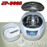 Wholesale 750ML W Ultrasonic Cleaner Digital Glasses Disk Jewelry Cleaning Machine V V