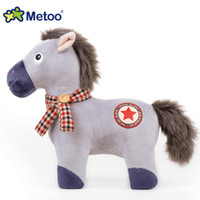 Wholesale NEW The Billys Styles Horse Plush Doll Animal Stuffed Baby Girls Cute Dolls Fairytale Toys Children Gifts cm cm cm free express WM01