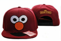 Ball Cap 18 Man Cheap Cute Sesame Street Caps snapback cap new hats wholesale snapback hats black cartton snapbacks