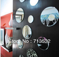 adhesive tape products - Hot Selling cm diameter Mirror D wall stickers circle mirror bathroom tape adhesive products