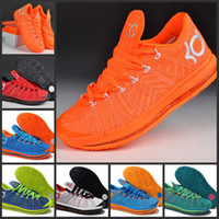 Mid Cut Men PU Tops Quality Kevin Durant VI KD KD 6 Bastketball Shoes Athletic Sneakers size 41-46