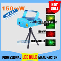 Wholesale DHL MW Mini Red amp Green Moving Party Laser Stage Light laser DJ party light Twinkle V Hz With Tripod lights