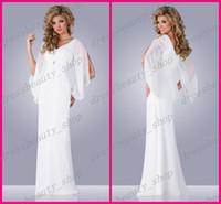 Wholesale 2016 Sexy V Neck Chiffon Sheath Goddess Greek Beach Wedding Dresses Hollow Long Sleeve Floor Length Garden Bridal Reception Party Gowns Sale