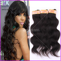 Wholesale Cheap Indian Body Wave Virgin Hair Unprocessed Wavy Hair Weave Remy Human Hair Weft Natural Black B Mixed Lengths quot quot
