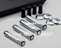 Carbon Fiber Vinyl Film Stickers 0.7 cm Car body parts, Modified Metal Car Door Lock Pin Fits for Mercedes Benz