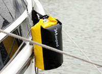 Backpacks floats for fishing - High Quality Waterproof Dry Bag Pounch Sack Backpack For Canoe Floating Rafting Camping Boating Kayaking Yellow L