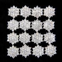 embellishments - Star Burst Rhinestone Button Sparking Flatback rhinestone Button Button Embellishment