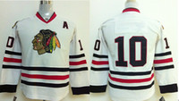 Ice Hockey jerseys for kids - 2014 New Kids Patrick Sharp Jersey Blackhawks White Youth Hockey Jerseys Name Logos Stitched Cheap Jerseys for Sale Playoffs Team Jersey