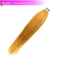 Wholesale Cheap Price Brazilian Remy Hair Tape in Hair Weft Extension YY