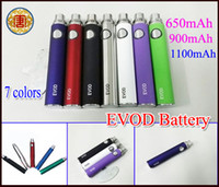 Cheap Evod battery e cigarette battery for ego t electronic cigarette atomizer clearomizer vaporizer rebuildable atomizer e cig ecig battery