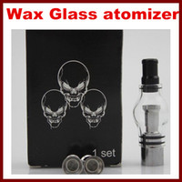 Wax Glass Globe Tank Set Dry Herb Vaporizer Clearomizer Atom...