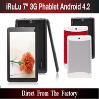 Wholesale Hot Q88 inch Tablet PC G Phablet MTK6572 Dual Core GB Android Dual SIM GPS Phone Call WIFI Tablet PC With Bluetooth