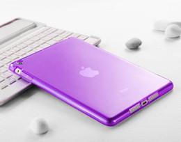 Wholesale Crystal Clear Transparent TPU Silicone Rubber Skin Gel soft Case for iPad Mini ipad ipad air ipad ipad air ipad