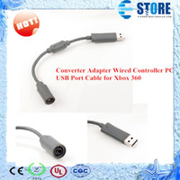 For Xbox   Converter Adapter Wired Controller PC USB Port Cable for Xbox 360,wu