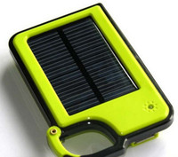 Wholesale Solar Battery Chargers mAh Portable USB Solar Energy Panel Power Bank For Mobile Phone MP3 MP4 With Retails Package Factoryworld