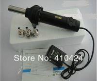 Brad Nail Gun Electricity Yes Portable Hand Held HOT AIR Gun 8032 desoldering Tool station 220V 420W + 3 air nozzles