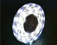 Wholesale 12V M LEDs IP65 LED Strip Light Waterproof leds m High Lumen Strips Warm white Cool white Bulbs Flexible Ribbon Lights