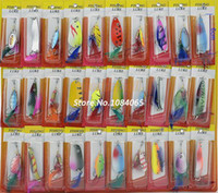 Wholesale Colorful Various Assorted Feather Fishing Lures Crankbaits Hooks Fishing Baits Tackle Artificial Lures