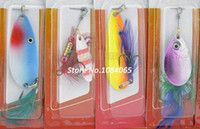 Wholesale Various Assorted Feather Fishing Lures Crankbaits Hooks Fishing Baits Tackle Artificial Lures