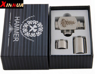 Cheap Hammer E Pipe Mod Kit E cig Mechanical E-Pipe Mod E Cigarette for CE4 CE5 Vivi Nova U-DCT Atomizer
