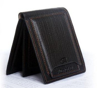 Wholesale New Short Wallets PU Leather Brand Men Wallets Bifold Wallet Men Card Holder Coin Purse Pockets b460