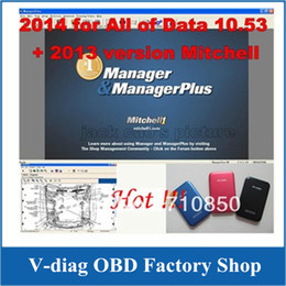 Wholesale in G HDD mitchell on demand alldata auto repair software Works on win7 and win8 with best technical support DHL