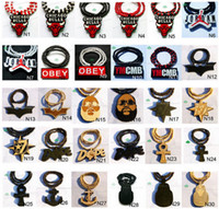 Wholesale 50PC NEWEST FREE Mix Order New Arrival Goodwood Necklaces Pendants Hip Hop For Men