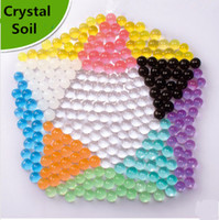 Wholesale Super Absorbent Polymer Magic Soil Gel Beads Crystal Soil Beads Crystal Soil