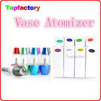 Wholesale 3 ML Flower Vase Style rebuildable Huge Vapor Super quality atomizer tumbler tank with ego thread Bottom Coil Heating Tank