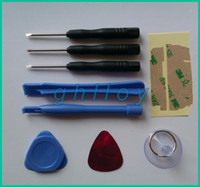 Wholesale 9 in Screwdriver Sucker Pry Repair Opening Tool Kit Set For iphone s g c s