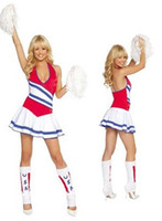 People basketball wear - 2015 Fashion New sexy costumes for women basketball baby girl cosplay Cheerleader costume uniform stage wear clubwear