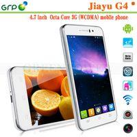Wholesale JIAYU G4 Cell Phone Android OS inch HD IPS Screen MT6592 Octa Core GB RAM GB ROM Dual SIM GPS Bluetooth OTG