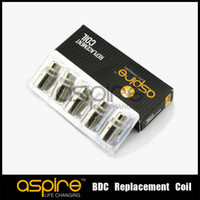 Replaceable 1.8/2.1ohm Metal Aspire Coils for Aspire BDC Atomizer heads bottom dual coil replacement wicks for BDC atomizer Aspire Dual Heating Coils Free shipping