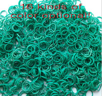 8-11 Years Multicolor  silicone 8%off!hot sale!Rainbow loom!Monochrome!Rainbow rubber band!DIY weave bracelets!Rainbow fort toys!14000 pcs in each bag!DROP SHIPPING!YJ