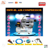 air compressor brand new 220V Free shipping!! 550W 1380r Min 8L Air Compressor For Air Bubble Removing Machine LCD refurbishment