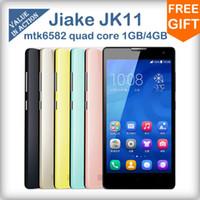 35Phone 5.0 Android Origianl JIAKE JK11 mtk6582 quad core mobile phone 5.0inch QHD Screen 1GB+4GB 5MP Camera Android 4.2 3G GPS dual sim