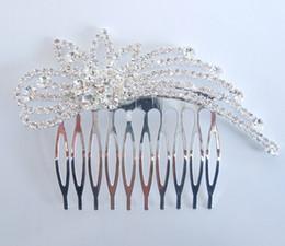 Wholesale The new marriage gauze accessories rhinestone crown bride headdress