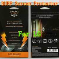 For LG Front  100 pcs lot BUFF 5H Screen Protector Guard film cover For LG G2 G3 Nexus 5 F240L G Flex Optimus G E960 Nexus 4 G Pro 2 E980 Protective Film