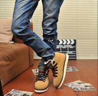 Half Boots Cowboy Boots Men 2014 winter shoes high-top shoes men shoes Casual Shoes Skateboard fashion shoes # 8475