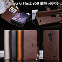 Wholesale LG G Flex D958 D958 Mobile Phone Case Cover LG Crazy Horse pattern shell protective sleeve