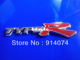 Wholesale 3D TYPER TYPE R Racing Emblem Badge Logo Decal Sticker
