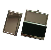 Wholesale of Blank Metal Business Card Holder Cases New
