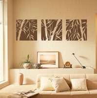 bamboo wall art - The Bamboo Puzzles Wall Art sticker decals for living room wall vinyl