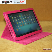 Folding Folio Case 7'' For Apple In Stock Free Shipping ,Drop Shiper 2014 Newest PIPO M9 Pro WIFI 3G leather case,PIPO M9 Cover ,Black,Brown,Pink