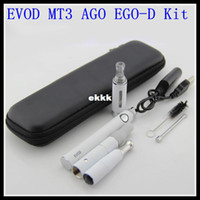 Metal Yes EVOD 2014 3 in 1 Dry herb vaporizer pen herbal cigarette evod e-cigarette e-cig ego starter kit with Ago G5 Mt3 Ego-d wax atomizers