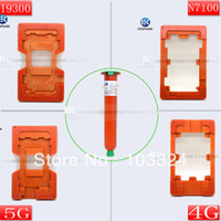 Wholesale mould UV GLUE molds For Samsung Note2 N7100 For iphone g i9300 i9500 For HTC Outer glass Lens alignment LOCA UV Glue
